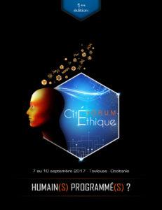 Affiche du 1er Forum Citéthique