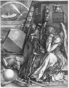 Dürer - Melancholia I (Creative Commons)